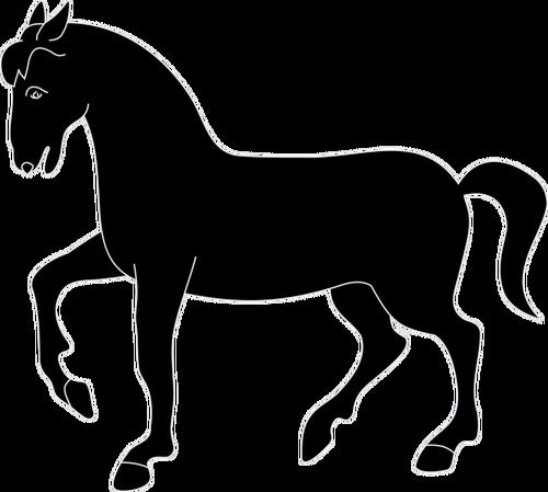 500x449 8104 Horse Head Clip Art Silhouette Public Domain Vectors