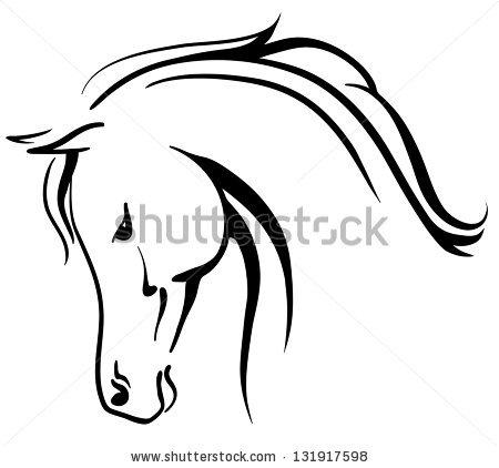 450x422 Horsehead Clipart