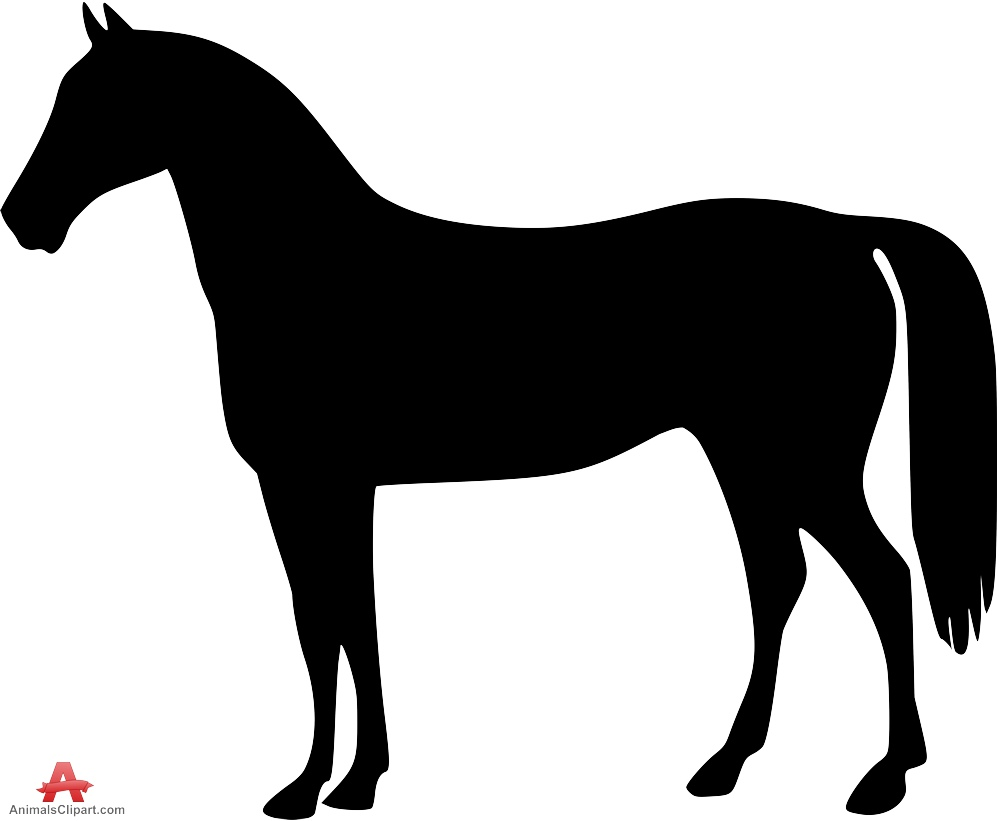 999x821 Standing Horse Cliparts Many Interesting Cliparts