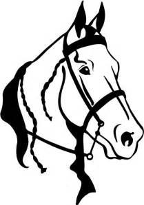 209x298 Quarter Horse Head Clip Art