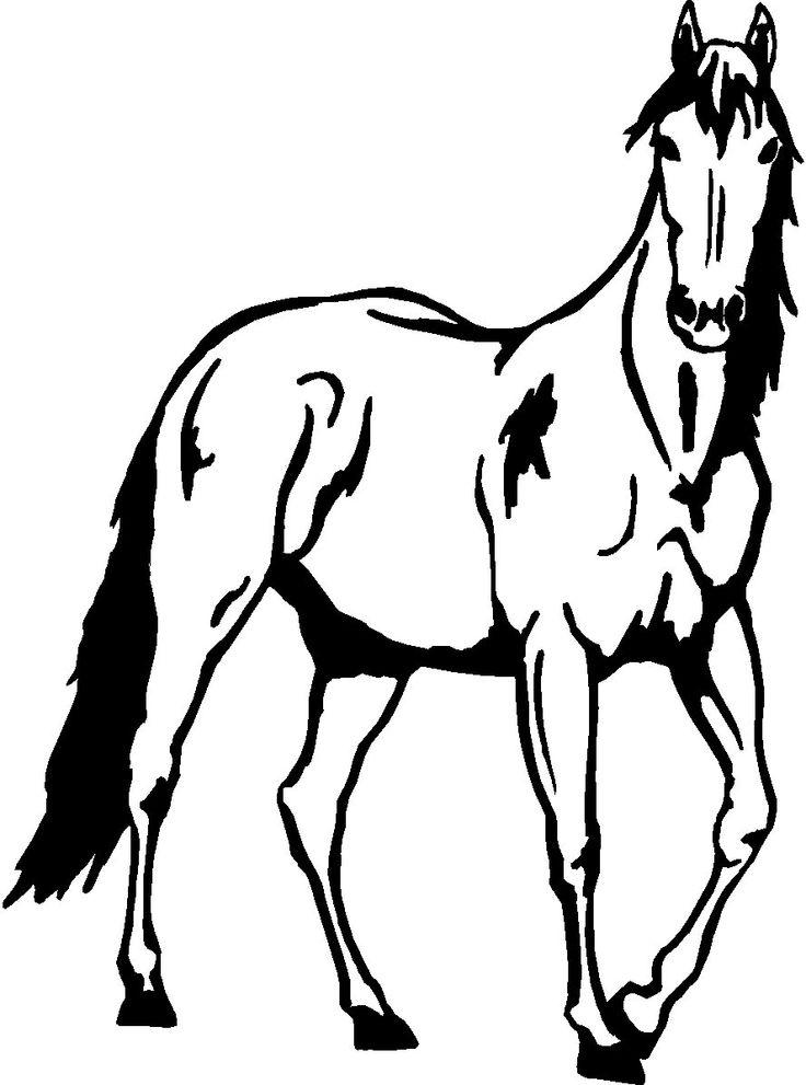 736x991 Black Horse Clipart