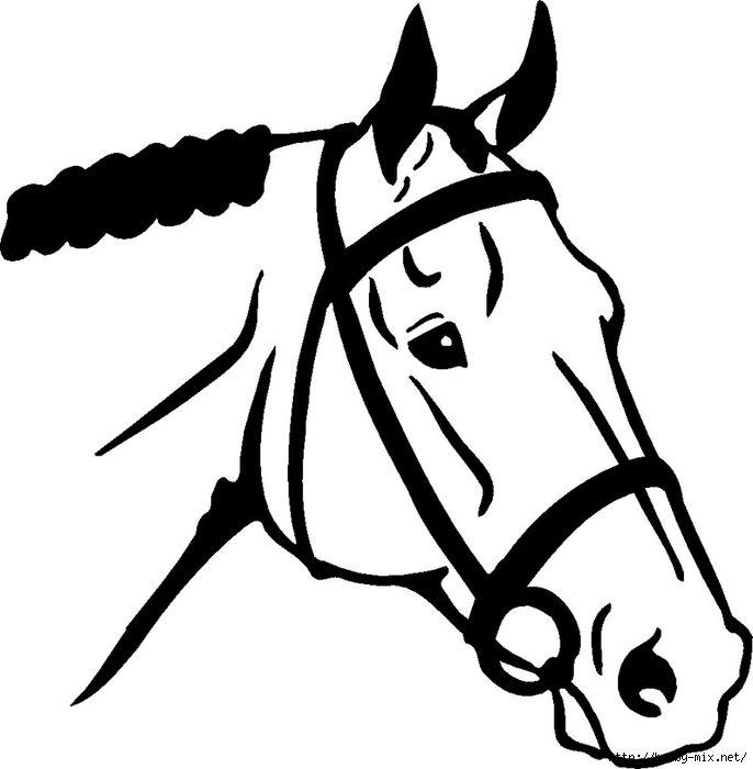 686x700 Cute Horse Head Clip Art 101 Clip Art