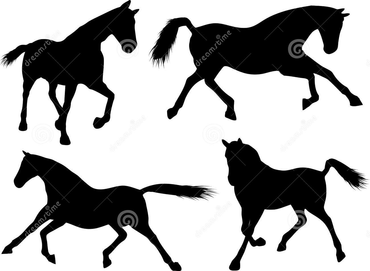 1300x951 Free Horse Silhouette Clip Art