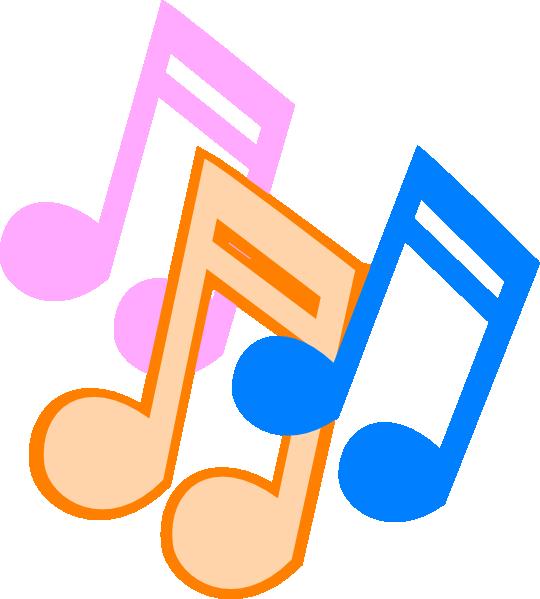 540x599 Music Note Clip Art