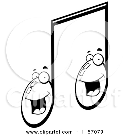 450x470 Music Notes Clipart Double