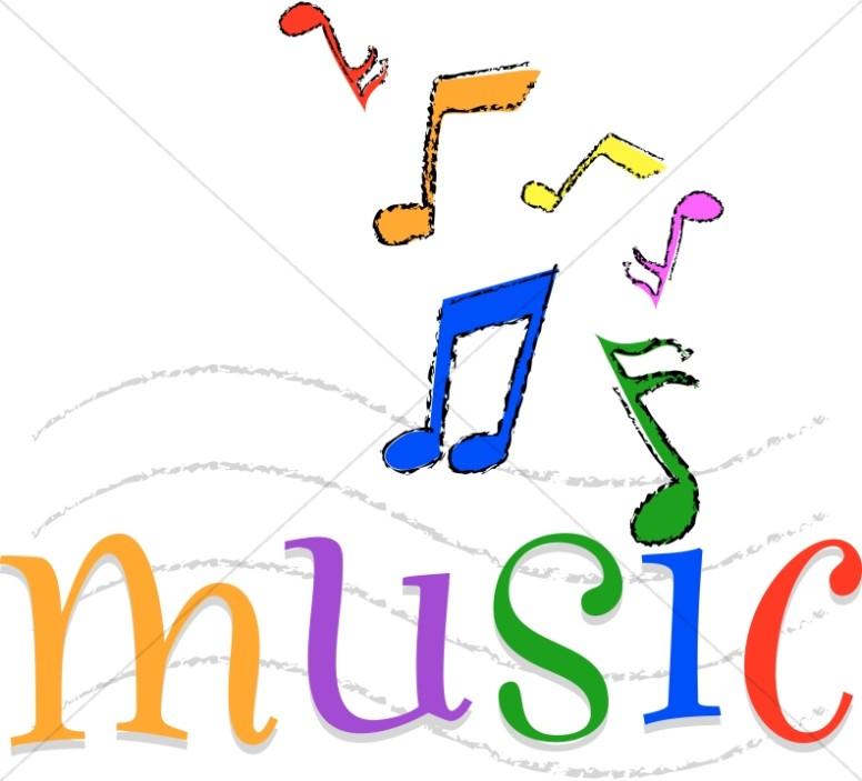 776x703 Word Clipart Music