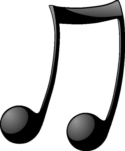 498x601 Double Note Clip Art