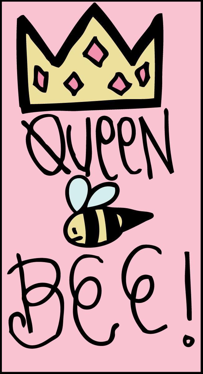 652x1200 Queen Bee Clipart