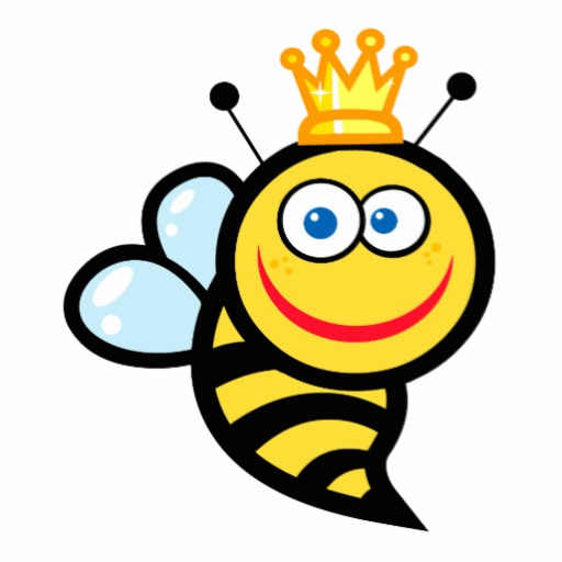 512x512 Free Queen Bee Clipart Image