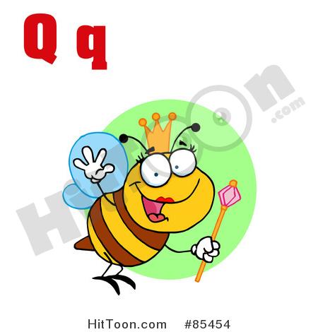 450x470 Queen Bee Clipart