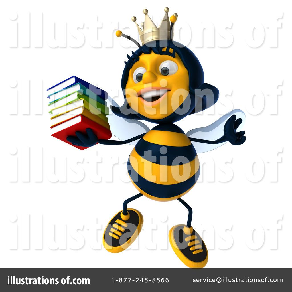1024x1024 Queen Bee Clipart