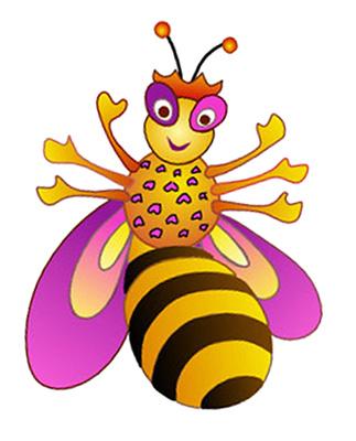 323x400 Queen Bee Clipart