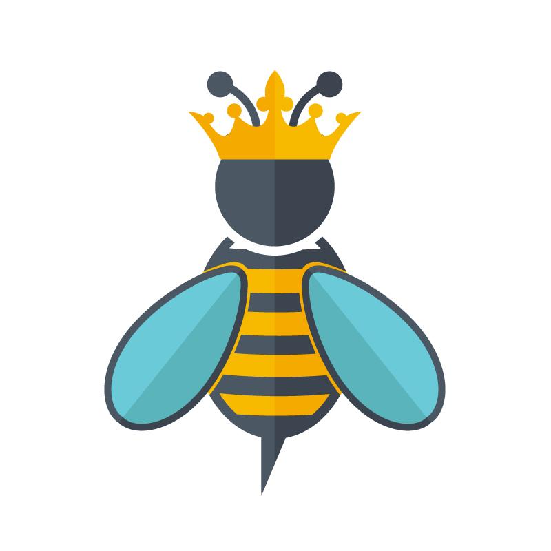 800x800 Queen Bee Of The Department