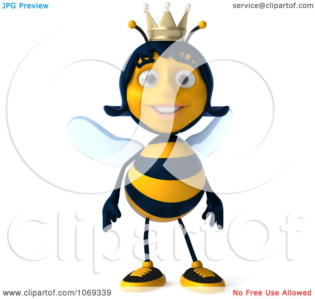 1080x1024 Royalty Free (Rf) Queen Bee Clipart, Illustrations, Vector Graphics