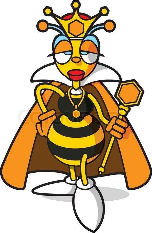 522x800 Queen Bee Stock Vector Colourbox On Picture Of Queen Cartoon