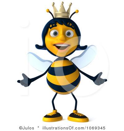 400x420 Bee Clipart Queen Bee