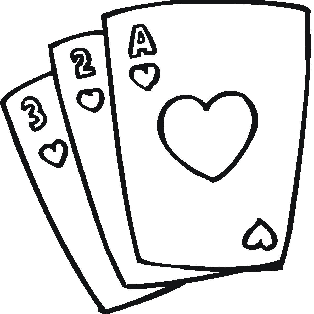 1200x1200 Deck Of Cards Clip Art