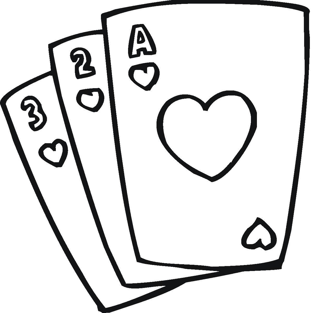1200x1200 Deck Of Cards Clip Art