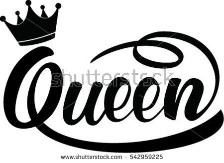 450x327 Monochrome Clipart Queen