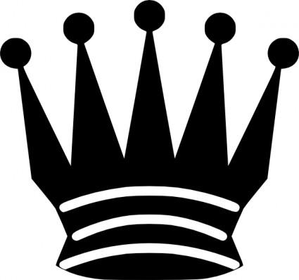 425x398 Black Chess Queen Clip Art Vector Clip Art Free Vector Free Download