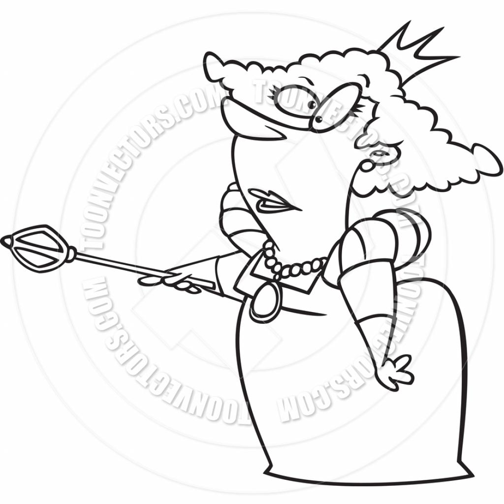1024x1024 Cartoon Queen Drawing Queen Clipart Free Download Clip Art