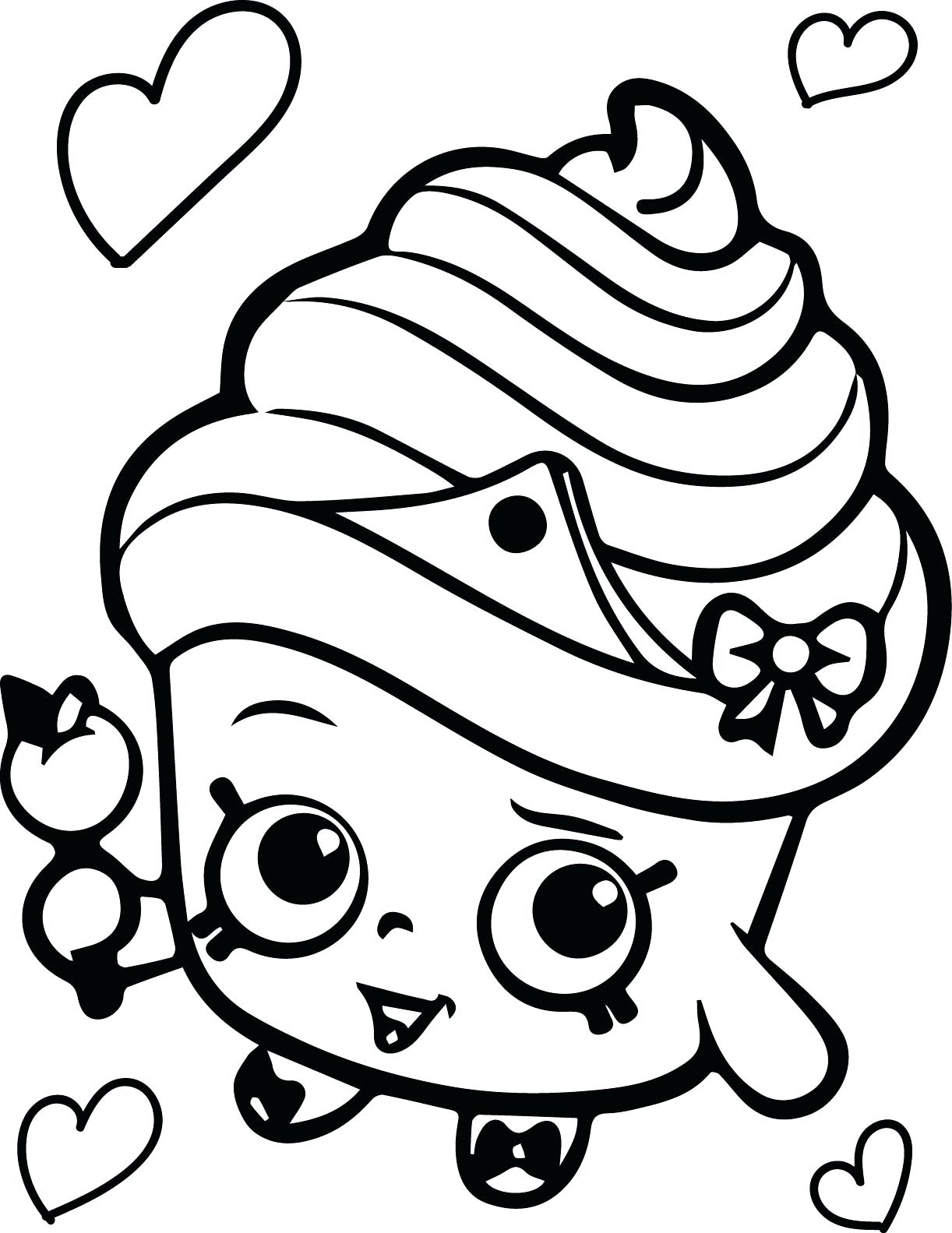 1222x1583 Magnificent Cupcake Coloring Pages With Cookie And Holiday 25