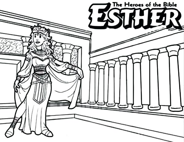 600x464 Queen Esther Coloring Pages Pin Queen Coloring Page 3 Esther
