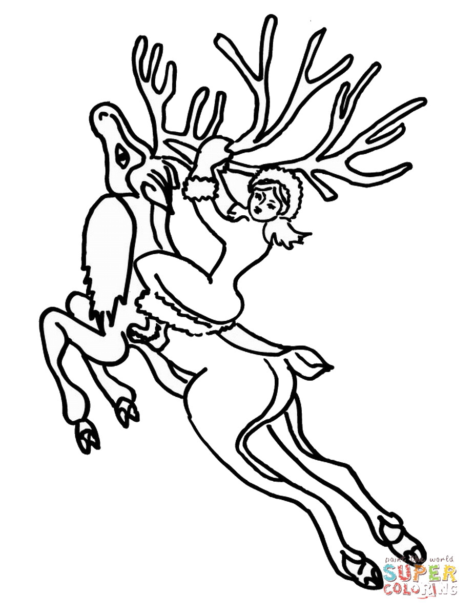 927x1200 The Snow Queen Coloring Pages