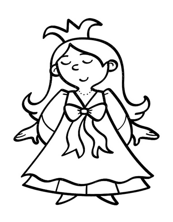 600x772 Top 75 Queen Coloring Pages