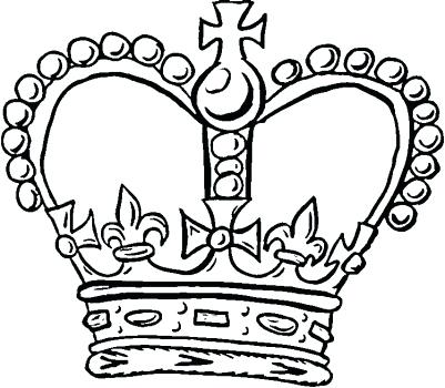 401x350 Extraordinary Mesmerizing Crown Coloring Pages Free Download