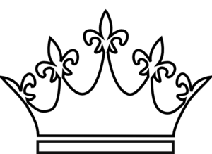 300x219 Crown Clipart White Queen