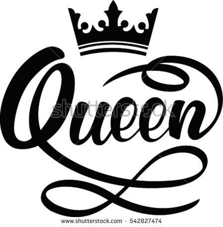 450x457 Drawn Crown Queen'S