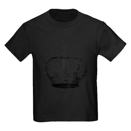 460x460 Kings Crown Black White Royal Princess King Queen Kid's Clothing