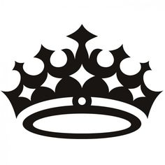 236x236 Queen Crown And Flowers 1 Inch Black Metal Amp By Mckeejewelrybeads