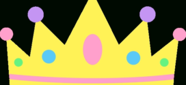 272x125 Queen Crown Clipart Black And White Clipart Panda