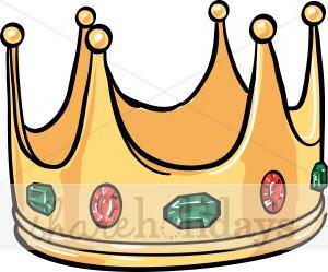 300x249 Crown King Clip Art