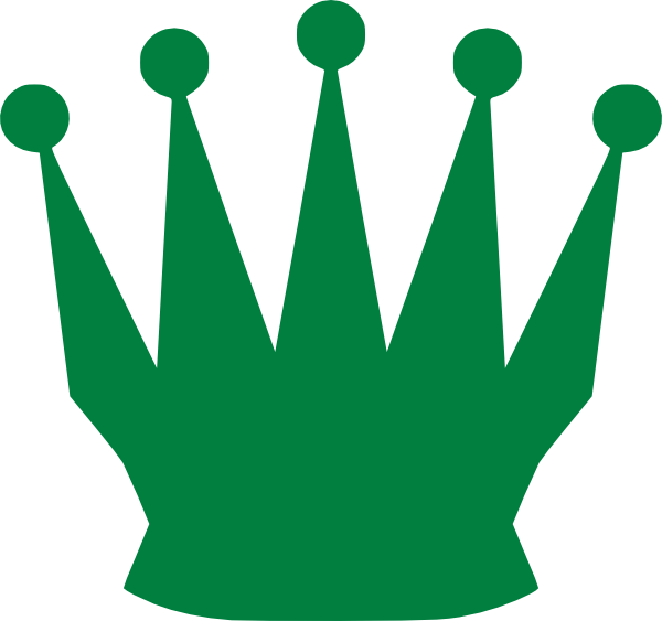 600x563 Green Queen Crown Clip Art
