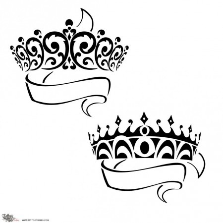 450x450 Drawn Crown Queen Crown