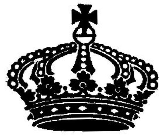 575x471 Drawn Crown Queen Victoria
