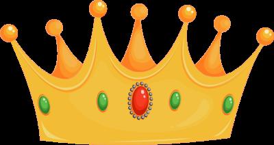 400x212 Kings Crown Clipart