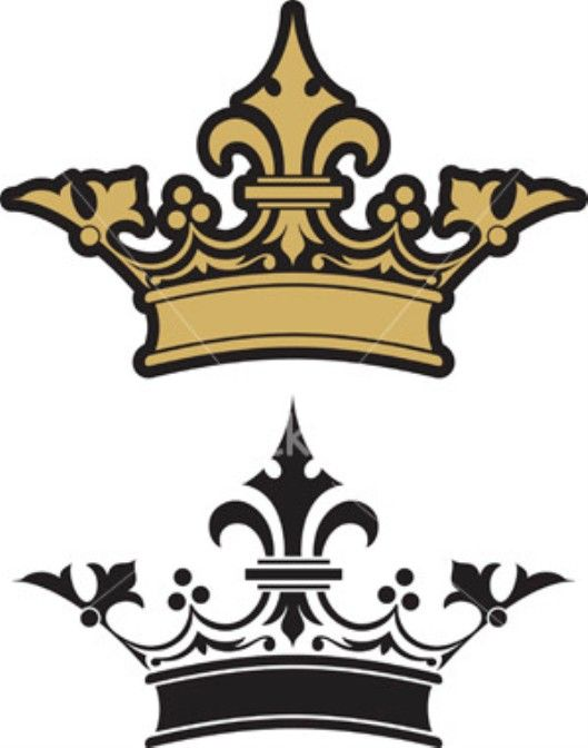 Queen Crowns Clipart