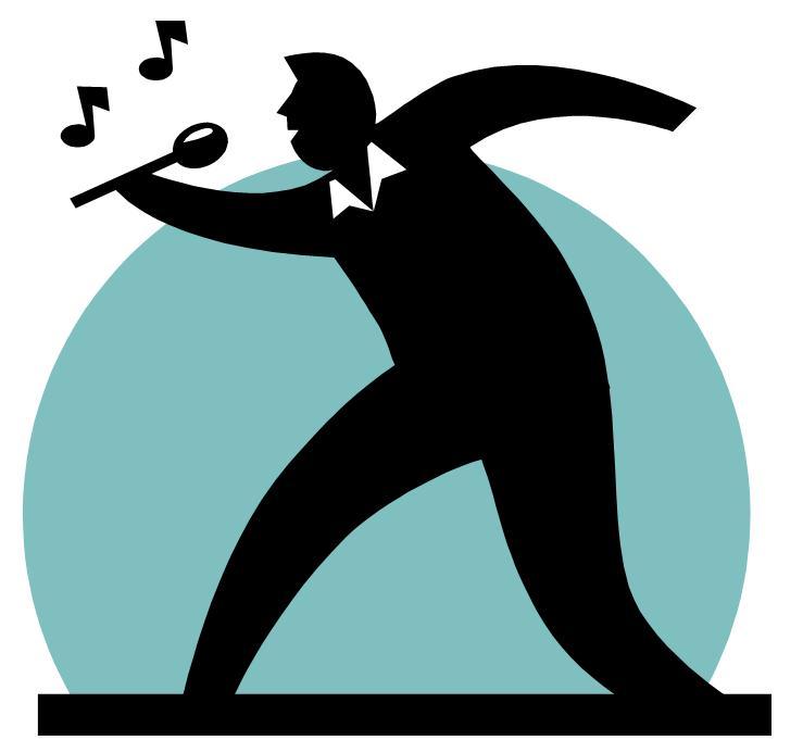 739x693 Singing Talent Show Clipart