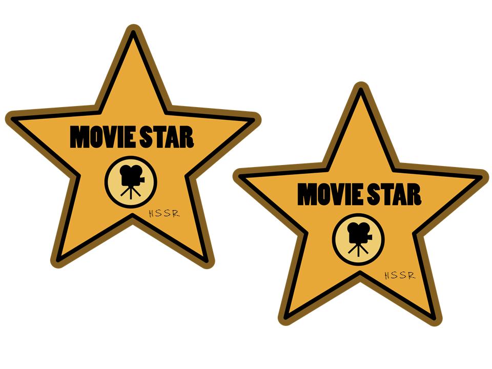 960x720 Hollywood Star Clipart