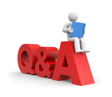 371x323 Question And Answer Clipart
