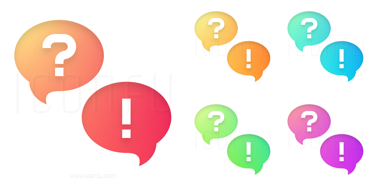 1200x600 Question And Answer Icon