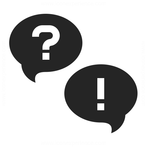 512x512 Question And Answer Icon Iconexperience