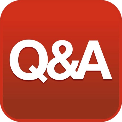 512x512 Question And Answer Session Icon Free Icons