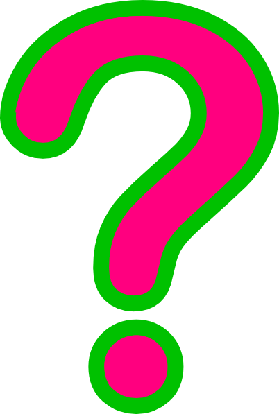 402x597 Question Marks Clip Art