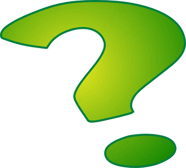 600x544 Question Mark Clip Art