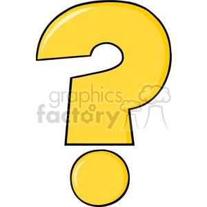 300x300 Royalty Free 6248 Royalty Free Clip Art Cartoon Yellow Question